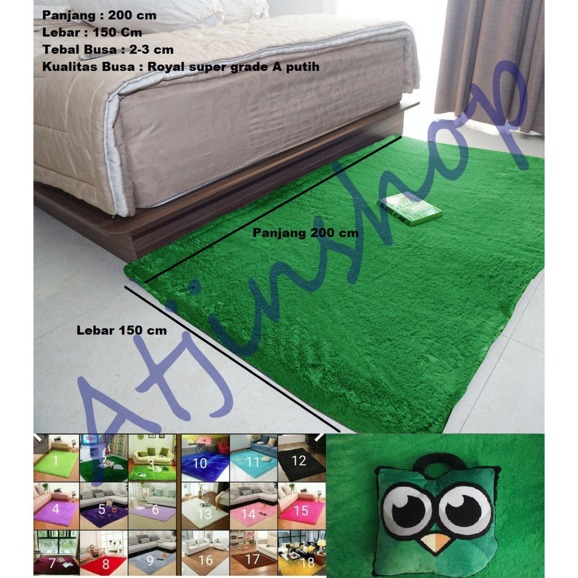 Perbandingan Harga Tjincollection Karpet Bulu Rasfur Lembut Busa Super Berkualitas 200 X 150 Cm Ready 16 Warna Di Jawa Barat